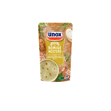 Unox  Soep In Zak Mosterdsoep 570 ml