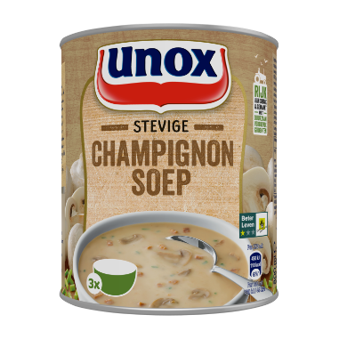 Unox Soep in blik Stevige Champignonsoep 800 ml