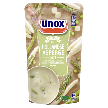Unox  Soep In Zak Aspergesoep 570 ml