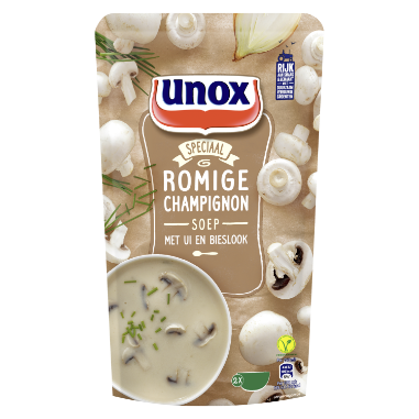 Unox Soep In Zak Champignonsoep 570 ml