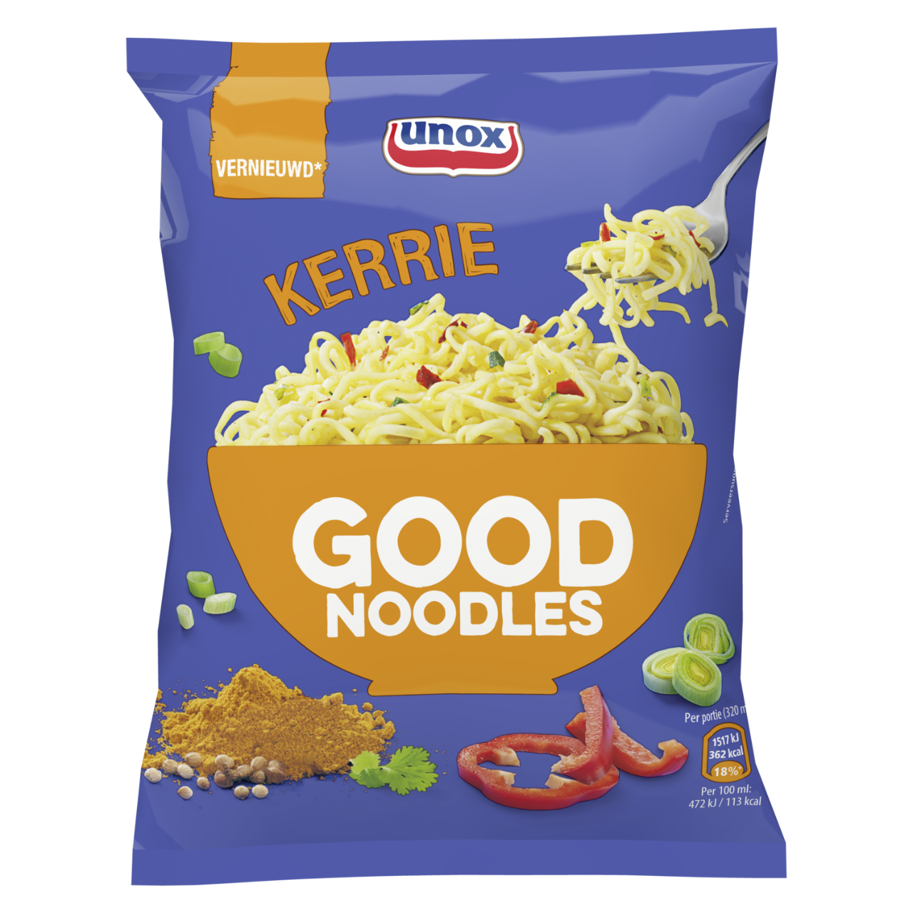 Unox Noodles CURRY 70 GR