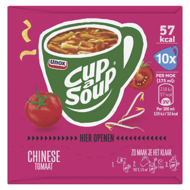 Unox Cup A Soup CHINESE TOMAAT 170 GR