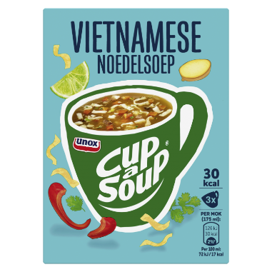 Unox Cup A Soup Vietnamese Noedelsoep 3 x 175 ml