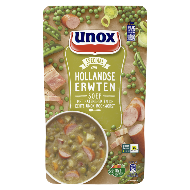 Unox Soep IN ZAK ERWTEN 570 ML 8717163935644